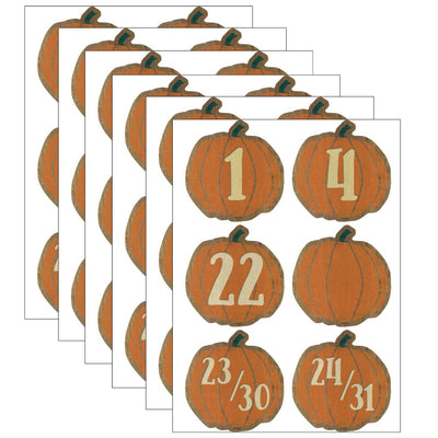 (6 Pk) Pumpkins Calendar Days Home Sweet Classroom