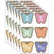 (6 Pk) Butterflies Calendar Days Home Sweet Classroom