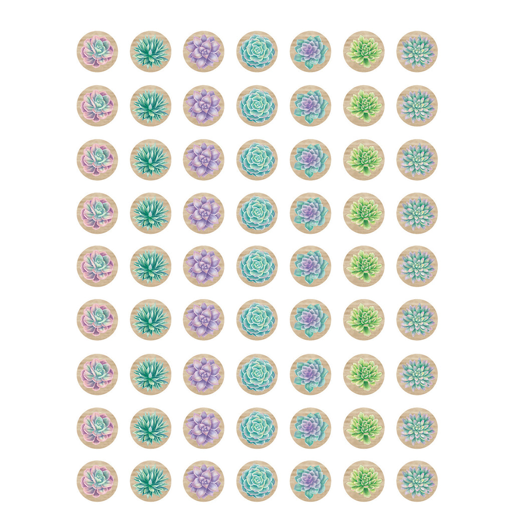 (12 Pk) Rustic Bloom Mini Stickers