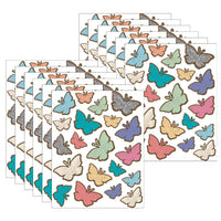 (12 Pk) Butterflies Stickers Home Sweet Classroom