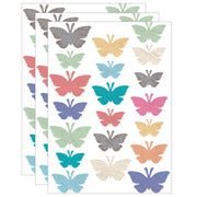 (3 Pk) Butterflies Accents Assorted Sizes Home Sweet Classroom