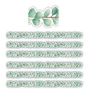 (6 Pk) Eucalyptus Die Cut Border Trim