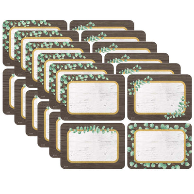(6 Pk) Eucalyptus Name Tags-labels Multipack