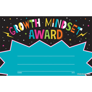 (6 Pk) Growth Mindset Awards