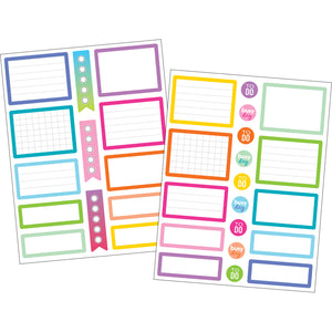 (6 Pk) Colorful Labels Planner Stickers