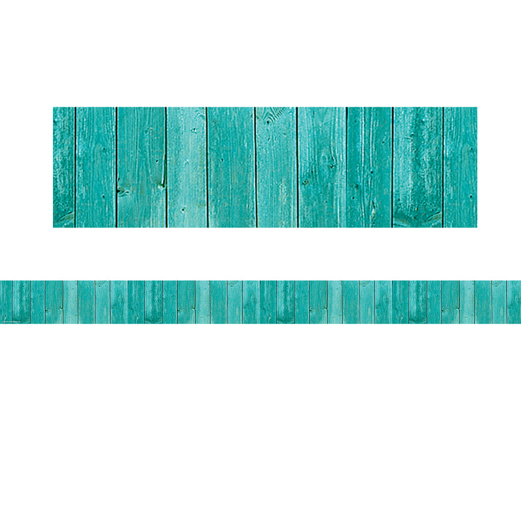 (3 Pk) Shabby Chic Wood Straight Border