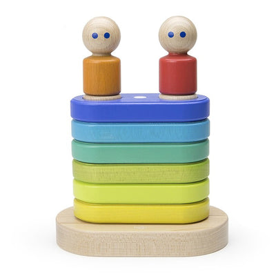 Magnetic Floating Stacker Rainbow