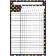 Magnetic W&w Incentive Chart Neon Chalk 12x18