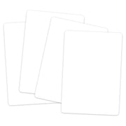 (6 Pk) Blank Playing Cards White