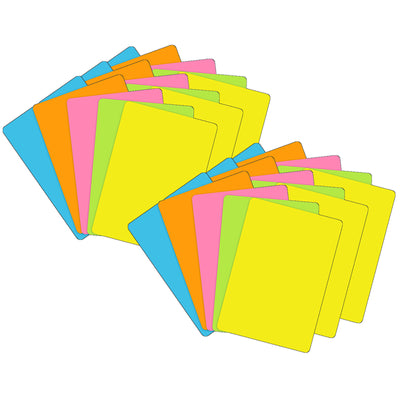 (6 Pk) Blank Playing Cards Assortd