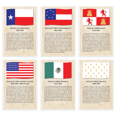 Historic Flags Of Texas