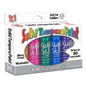 Kwik Stix Paint 6 Metallic Colors Jumbo