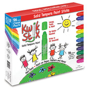 Kwik Stix Tempera Paint Classpack 96pc Set