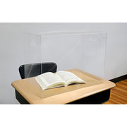 Personal Space Dsk Divider Clear Lg For Middle School-high School