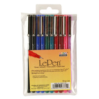 (2 Pk) Lepen Basic 10 Colors
