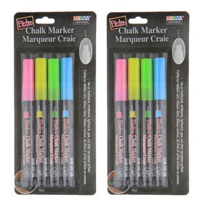 (2 St) Bistro Chlk Markers Xtra Fine 4 Set