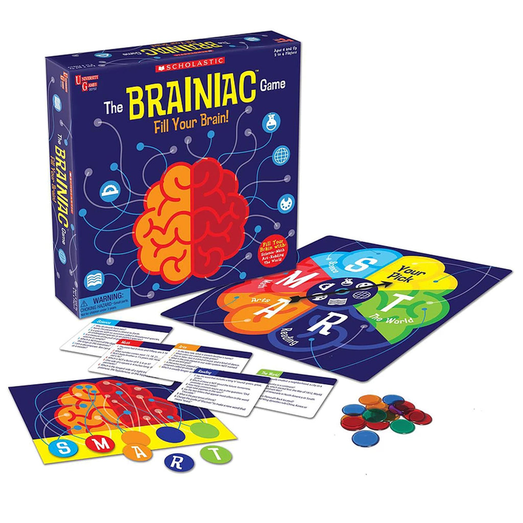 Scholastic The Brainiac Game - Student Spotlight