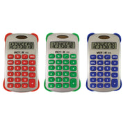 (3 Ea) Colorful 8 Digit Handheld Calculator