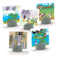 (2 ST) STAND IT STONES SET OF 5
