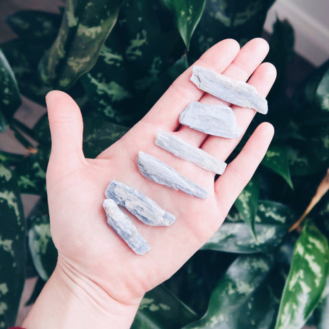 Inner Light Botanicals online crystal shop Blue Kyanite