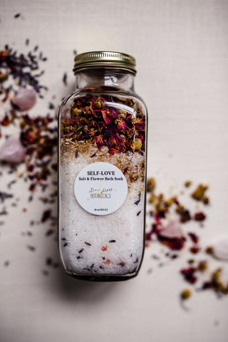 SELF-LOVE Salt & Flower Bath Soak