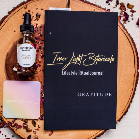 Inner Light Botanicals Gratitude Facial Oil & Self-Care Kit