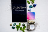 Inner Light Botanicals SURRENDER *Mystery Crystal* Peppermint Body Scrub and Surrender Control Self-Care Kit