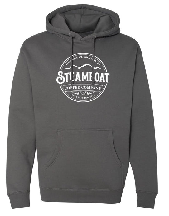 Dark Gray Hooded Sweatshirt