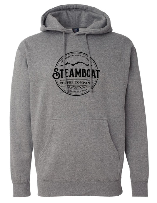 Charcoal Gray Hooded Sweatshirt