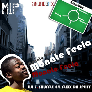 Artist: Jiji F/Shuffle 44/Flix/Dr Spliff Song: Monate Feela Label: MIP Publisher: MIP