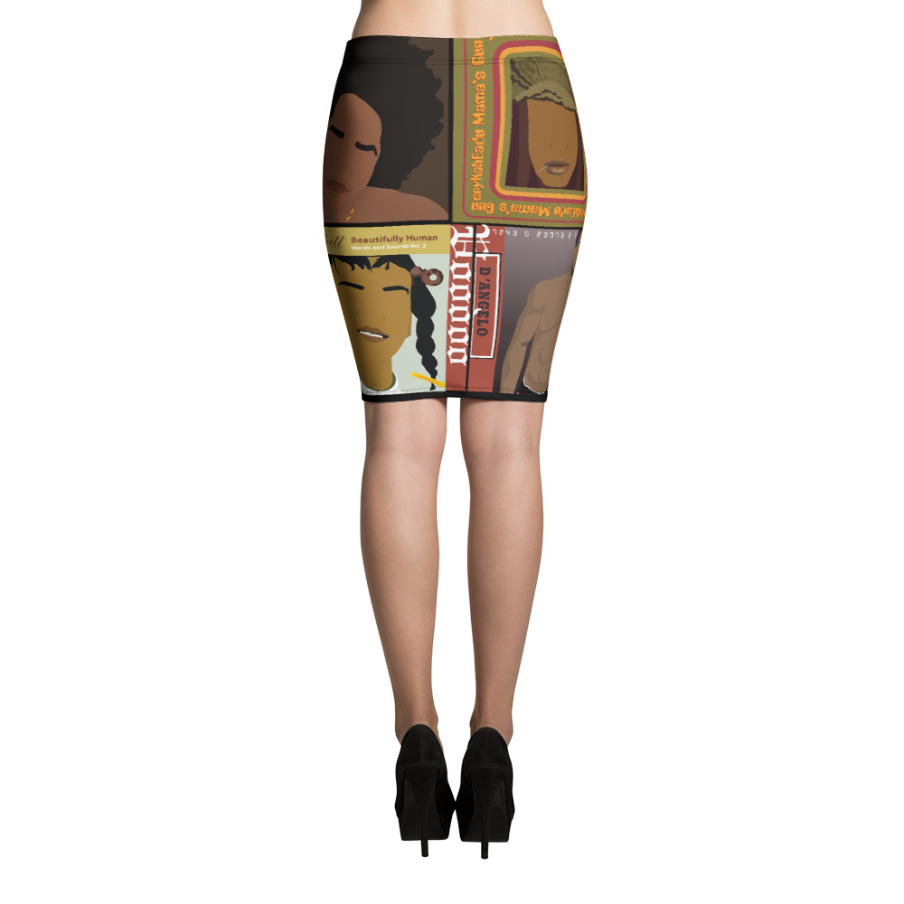 Neo Soul - Pencil Skirt - Temple & Kardy's Store
