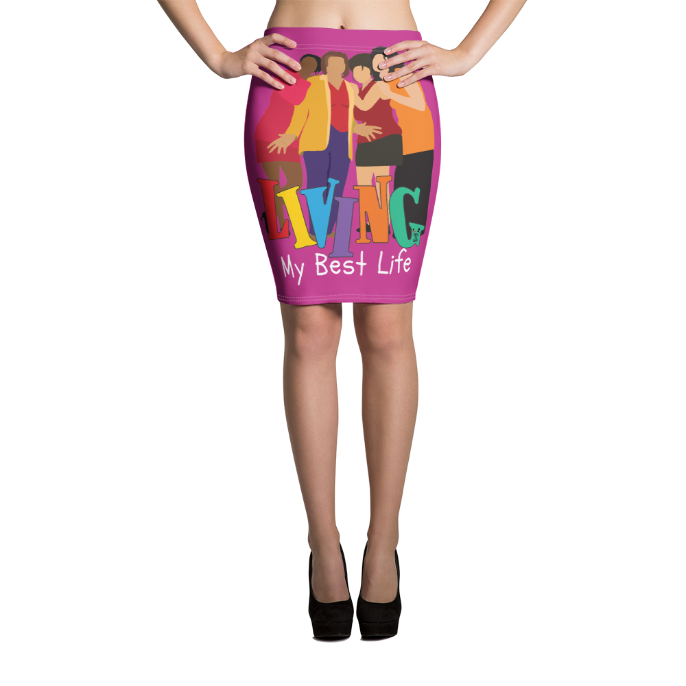 Best life - Pencil Skirt - Temple & Kardy's Store