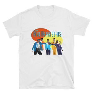 Open image in slideshow, The Five Heartbeats (unisex) tee - Temple & Kardy's Store