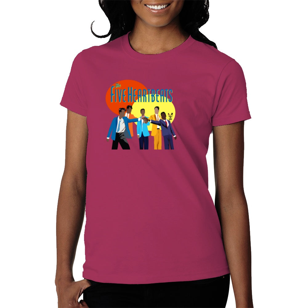 The Five Heartbeats tee (womens) - Temple & Kardy's Store