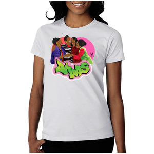Open image in slideshow, The Fresh Prince of Bel-air Divas tee - Temple & Kardy's Store