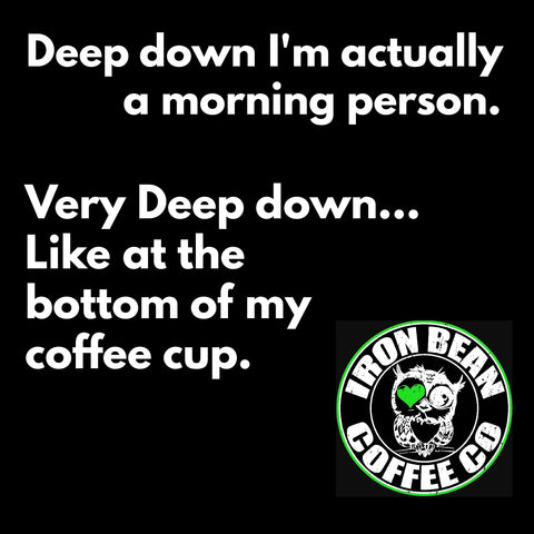 Coffee Meme Not a morning person