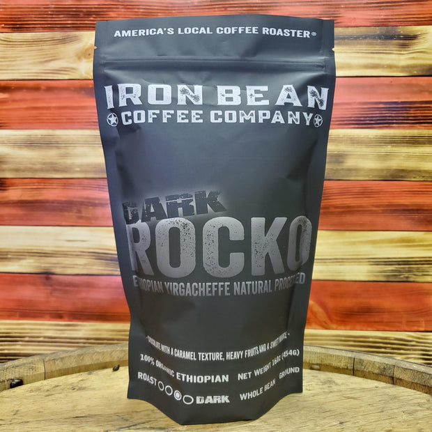 DARK ROCKO - Ethiopian Natural Process - Darker Roast