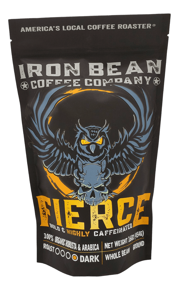 Fierce™ - Highly Caffeinated Dark Roast