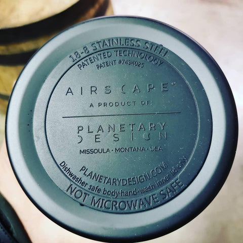Airscape IBCC Coffee Canister - Charcoal