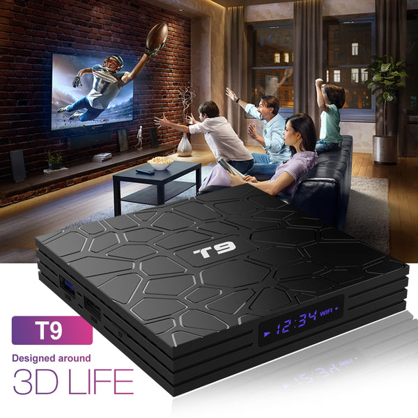 T9 4K Android TV Box 4GB/32GB  - Summer Sale!!!
