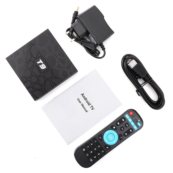 T9 4K Android TV Box 4GB/32GB (Android 8.1) - Summer Sale!!!