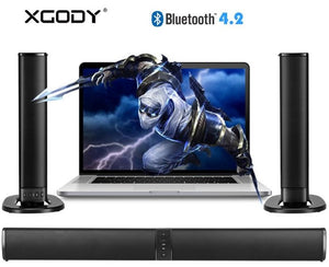 XGody 2 in 1 BS36 Soundbar Bluetooth Speaker