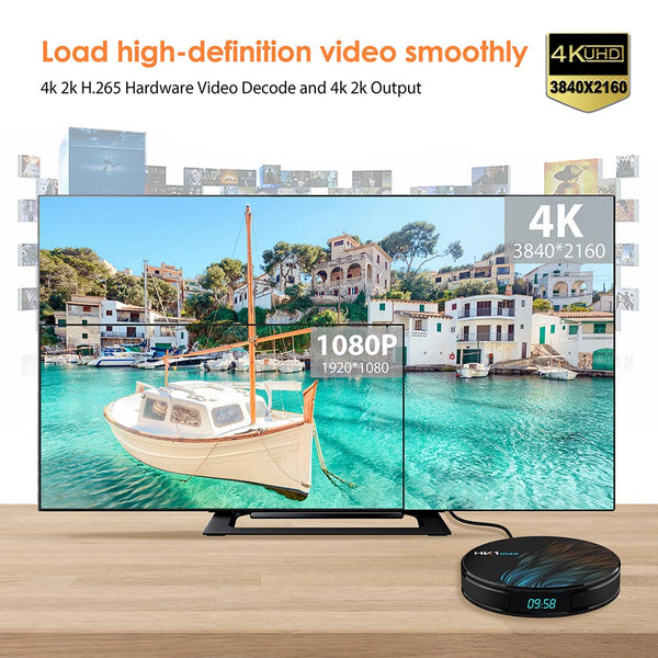 HK1 Max Android TV Box 2GB/16GB 4K - (Android 9.0!)
