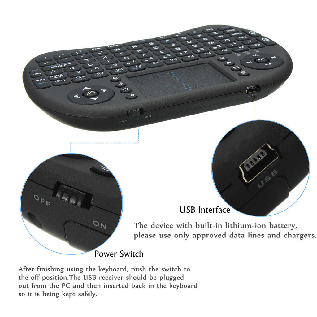 Wireless Keyboard With Back light For Android TV