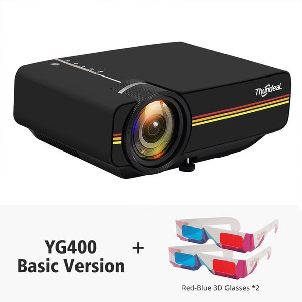 YG400 Mini Projector 1800 Lumen