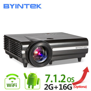 BYINTEK MOON BT96 Plus Android 4K LED Projector (All In One Unit)