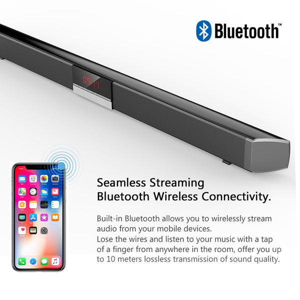 XGody SR100 Plus Bluetooth Soundbar Wireless For TV
