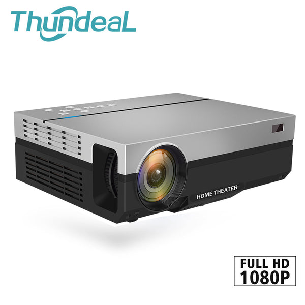 Thundeal T26K HD Native 5500 Lumens LCD Home Cinema Projector