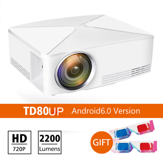 Thundeal TD80 Mini LED Projector With Android