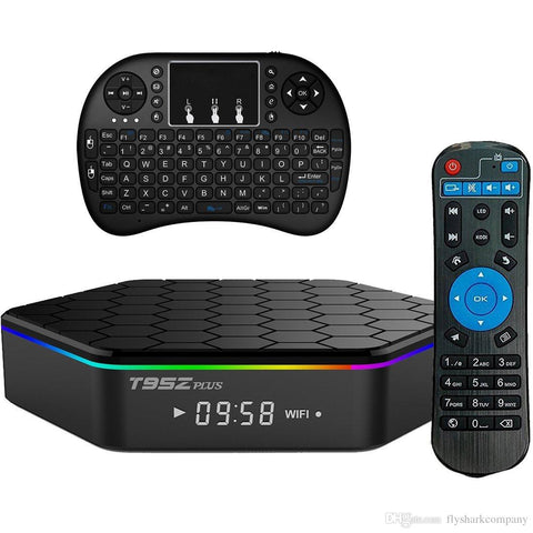 T95Z Plus Android TV Box With Backlight Keypad - 2GB/16GB (Android 7.1 - Newest Version!)